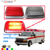 Ambulance 9.4 x 7.2x 1.6 inch LED Narrow surface mount light