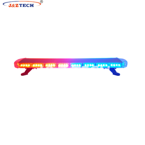 Full range color police ambulance truck lightbar for car