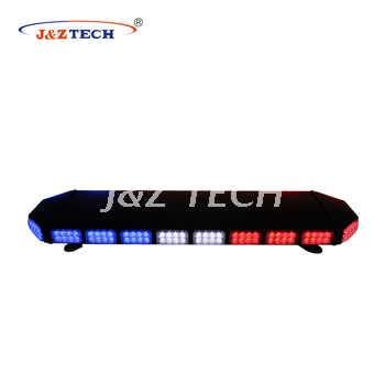 Double row full size waterproof led warning light bar