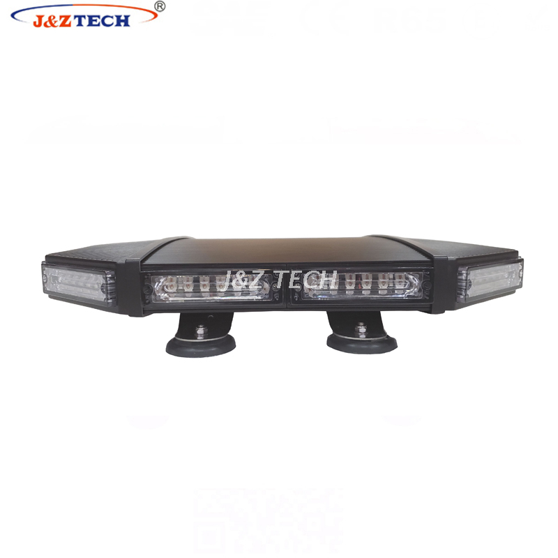 Aluminum housing police warning lights ambulance strobe led mini lightbar