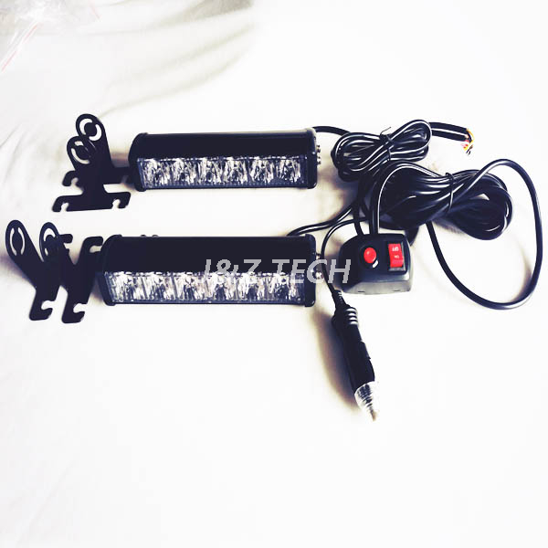 LED Wig wag flash lightbar with control box