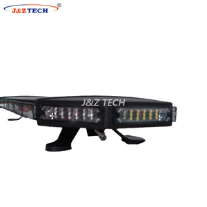 Led Warning Police Black Aluminum Base strobe Lightbar for Truck
