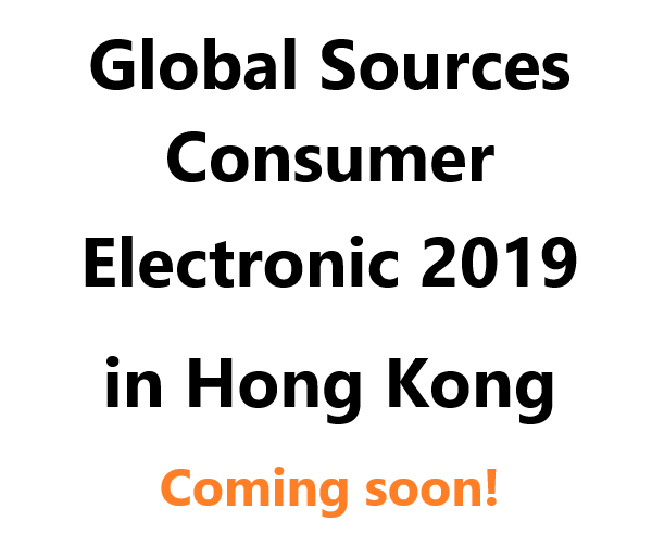 Global Sources Consumer Electronic 2019