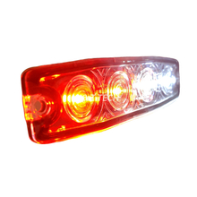 4 LEDs Thin Dual Color Durable Flashing Led Police Strobe Lights