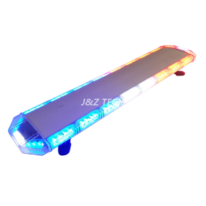 Traffic Safety Light 82LED 120cm Portable Slim Led Strobe Warning Lightbar for Emergency Vehicle
