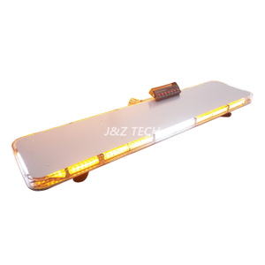 "New Arrival 47"" sliver aluminum base warning flashing strobe lightbar safety guide led light"